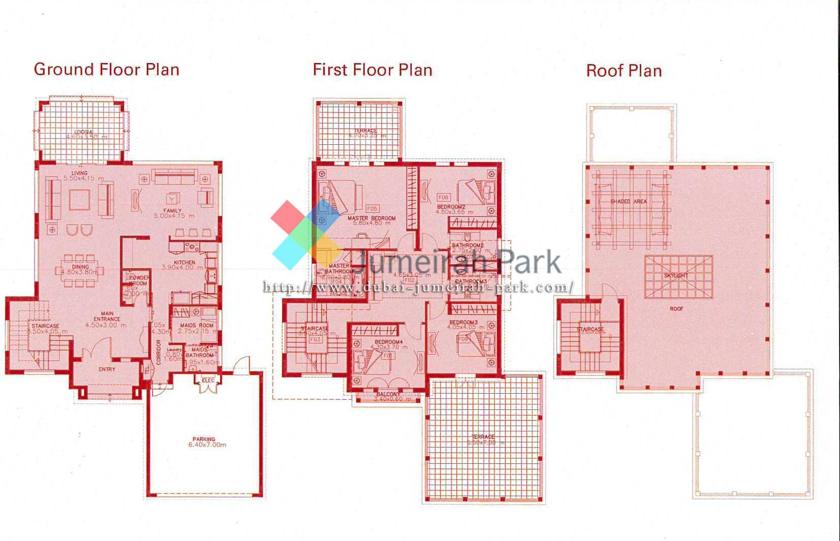 Floor Plans Jumeirah Park : Villas for Sale & Rent in Jumeirah Park